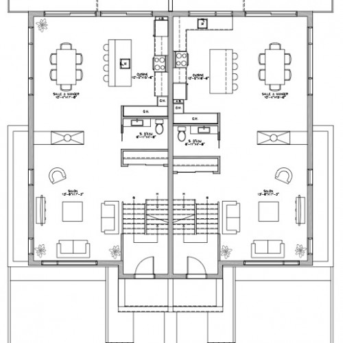 Plan De Maison Rue Bonin 2