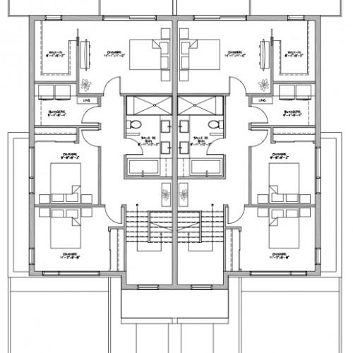 Plan De Maison Rue Bonin 4