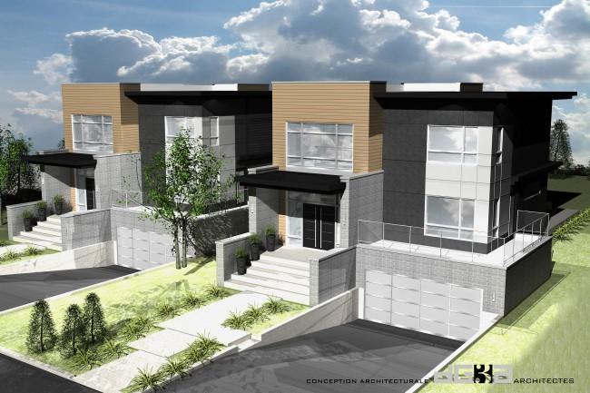 Unifamiliale rue dickson possibilit de construire avec for Construire vos propres plans