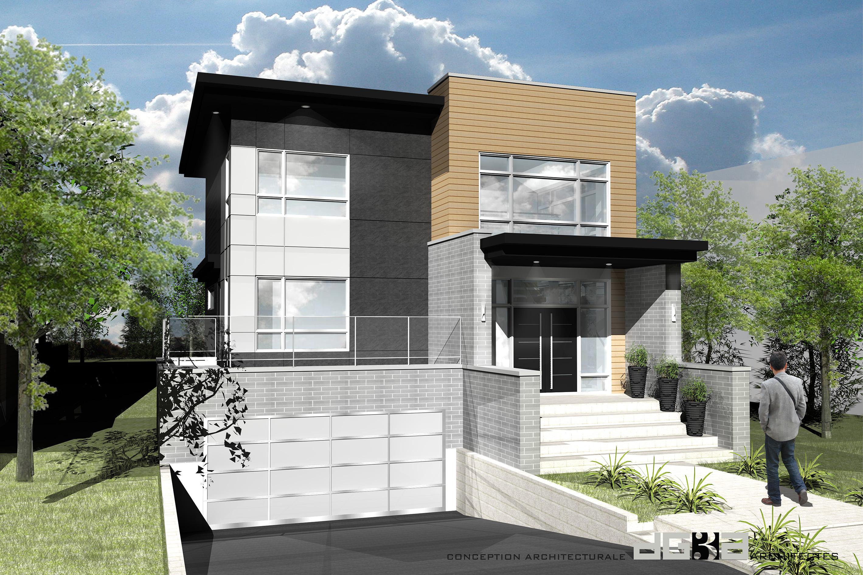 Unifamiliale rue dickson possibilit de construire avec for Concevez vos propres plans de garage gratuitement