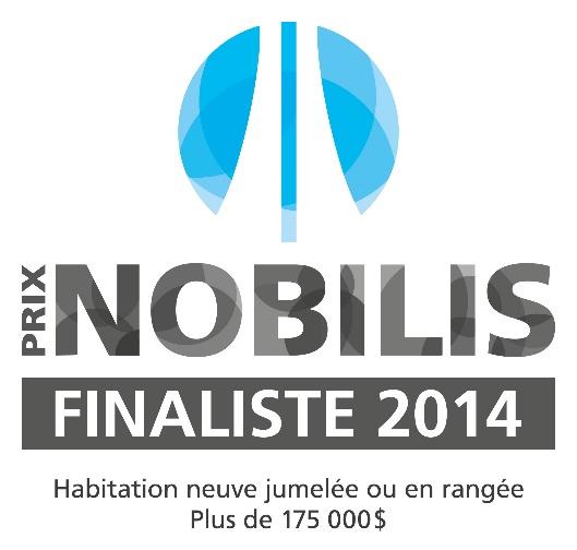 FInaliste 2014 Prix Nobilis - Catégories Habitation neuve jumelée ou en rangée de plus de 175 000 $